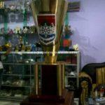 pembuatan trophy kuningan