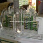 miniatur gedung untuk akrilik